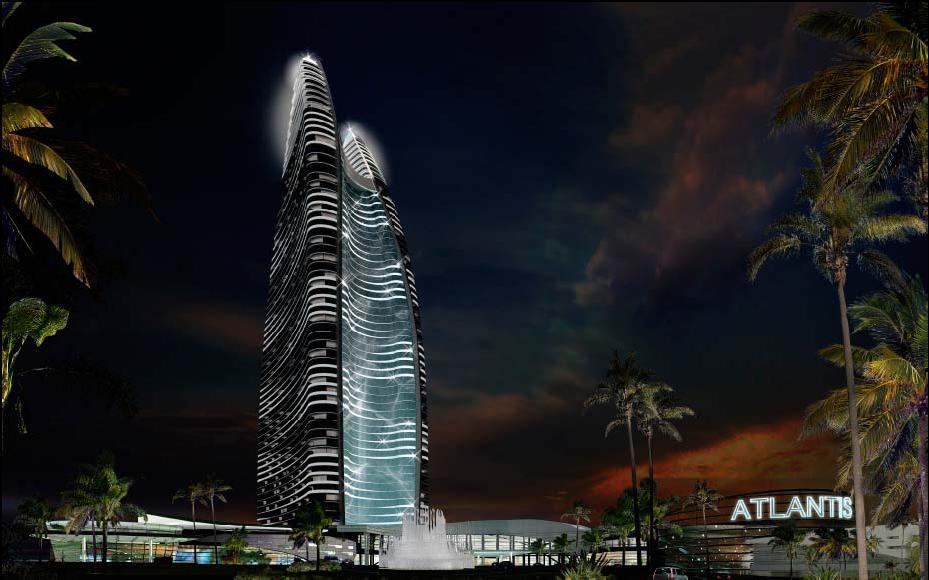 三亚海棠湾亚特兰蒂斯酒店泛光照明工程